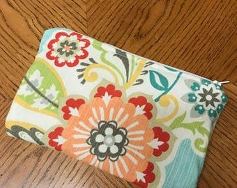Sewing Pattern Directions for 6 x 9 Cosmetic Bag