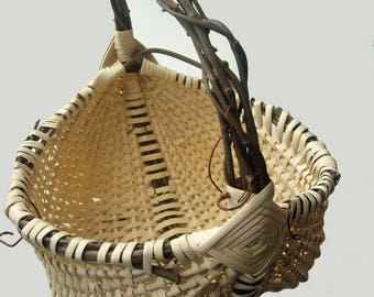 Pattern - Ribbed Grapevine Egg Basket