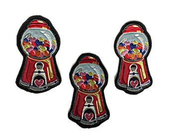 Fashion Patches, Embroidered Patch, Embroidered Applique Patch, Custom Patches Large, Candy Patch Embroidered, Sew on Patches for Jeans