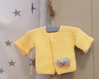 /Gilet jacket / coat Baby T.0/3 months