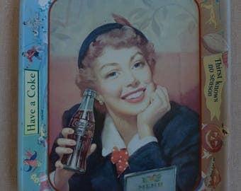 Vintage 1950's Coca Cola Tray