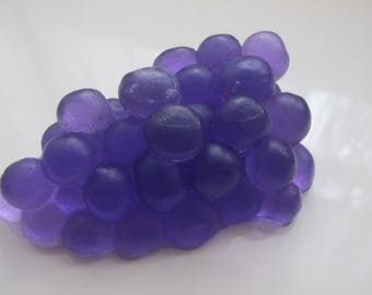 Cristal soap Grapes (with rose aroma)