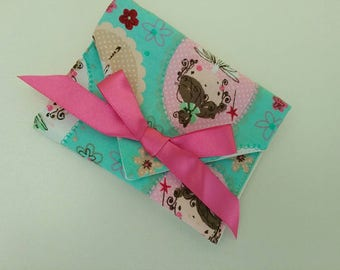 Gift envelope, gift voucher pouch, gift wallet, fairy wallet, fairy pouch, fairy envelope