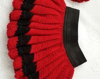 skirt for girl, knitted skirt, clothes for girls, festive clothing,