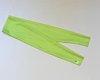 Cooling Scarf/Headwrap - LIME GREEN