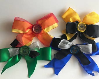 Harry Potter Housing Hair Bows
