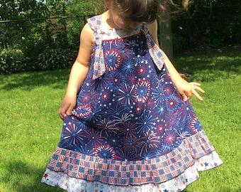 4th of July Knot Dress
