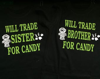 Will trade brother or sister shirt