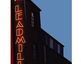 A3 PRINT The Leadmill