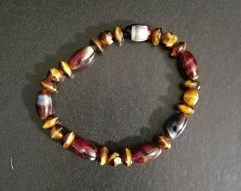 Earth Tones Bead Bracelet