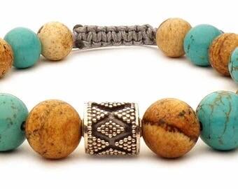 Turquoise Beads Bracelet