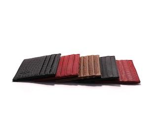 Porta card Triple 100% leather