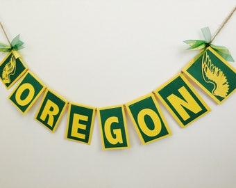 University of Oregon Garland