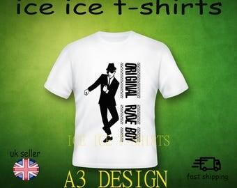 Original rude boy  - ska - 2 tone  - adult white t-shirt  brand new
