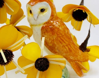 BESWICK Barn Owl - Figuring 2026 - Made in England - Hand Painted