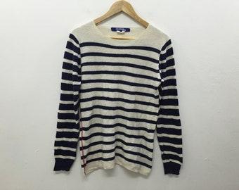 Vtg Comme des Garcons Junya watanabe stripe Knitwear Nonnative Supreme visvim Bape neighborhood number nine Issey Miyake  wtaps issey Miyake