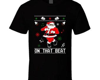 Black Santa Ju Ju Dance T Shirt
