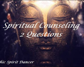 Psychic reading, Spiritual Counseling 24 Hr,  2 Questions, Clairvoyant, Via Pdf