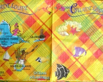 Paper towel trip in Guadeloupe