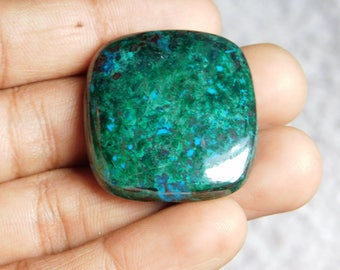Awesome Chrysocolla gemstone Cabochon Very Gorgeous looking Excellent Quality Natural handmade Gemstone Top quality 95.45cts (34x31x7)mm