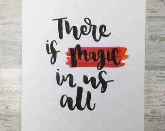 Magic in us All A4 Original