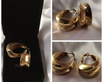 SALE 30%! Code: SOLDESCNS! Vintage France years 50-60 Chic and elegant earrings for woman