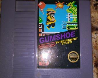 Gum shoe NES cartridge