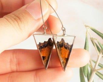 Butterfly earrings // natural earrings // jewelry for her // natural and minimalist // earrings handmade // earrings woman // ecofriendly