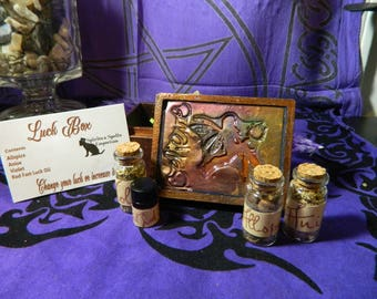 Luck Box - Hoodoo, Witchcraft, Good Luck, Change your Luck, Increase your Good Luck