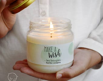 Scented candle - grass