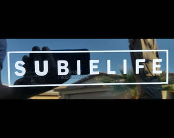 Square Subielife Decal