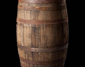Authentic Kentucky Bourbon Whiskey Barrel