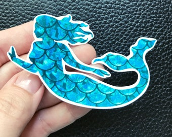 Mermaid/scales/vinyl sticker/car decal/window decal/tumbler decal/laptop sticker