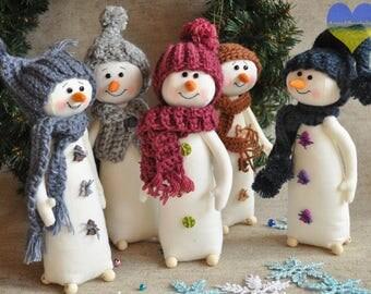 Snowman Plushie, Snowman Softie, Snowman Plush Toy, Cute Snowman, Plush Snowman, Stuffed Snowman, Stuffed Toy Snowman, Snowman Plush