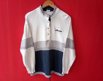 vintage ellesse casual sweatshirt ladies