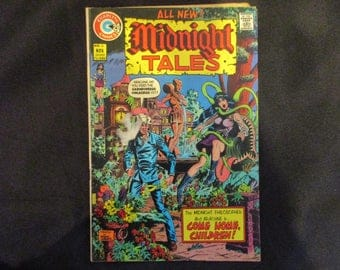 Midnight Tales #6 Charlton Comics 1973