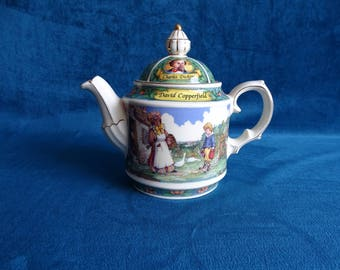 Sadler teapot Charles Dickens, David Copperfield,