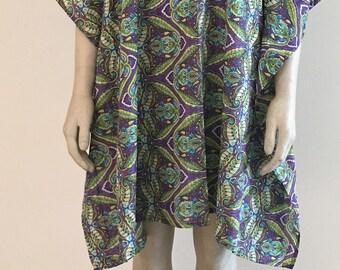 SUMMER SALE - for 1 week only! Beach Cotton Kaftan Dress