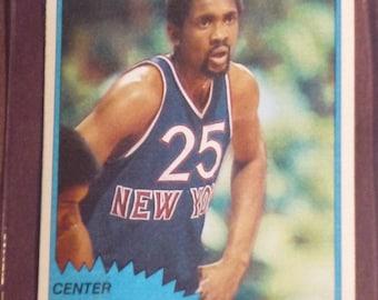 1981 Topps Bill Cartwright #26 Knicks Fair Condition