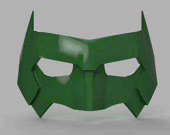 Kyle Rayner Mask Green Lantern  STL files