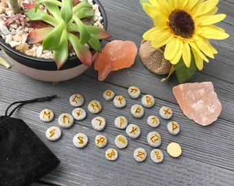 Polymer Clay Norse Rune Set