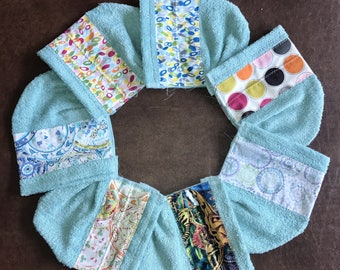 Children's Teal Hooded Towel