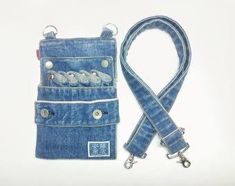 Denim Scissors case Blue (washed)