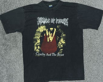 Vintage Cradle of filth Cruelty And The Beast t-shirt (Large)