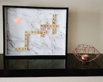 Custom Scrabble Frames