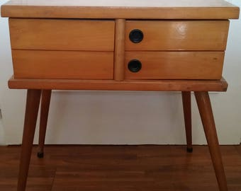 Gorgeous little seamstress-vintage 1960's Scandinavian style furniture-