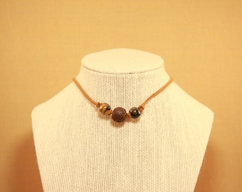 Brown Grace Choker