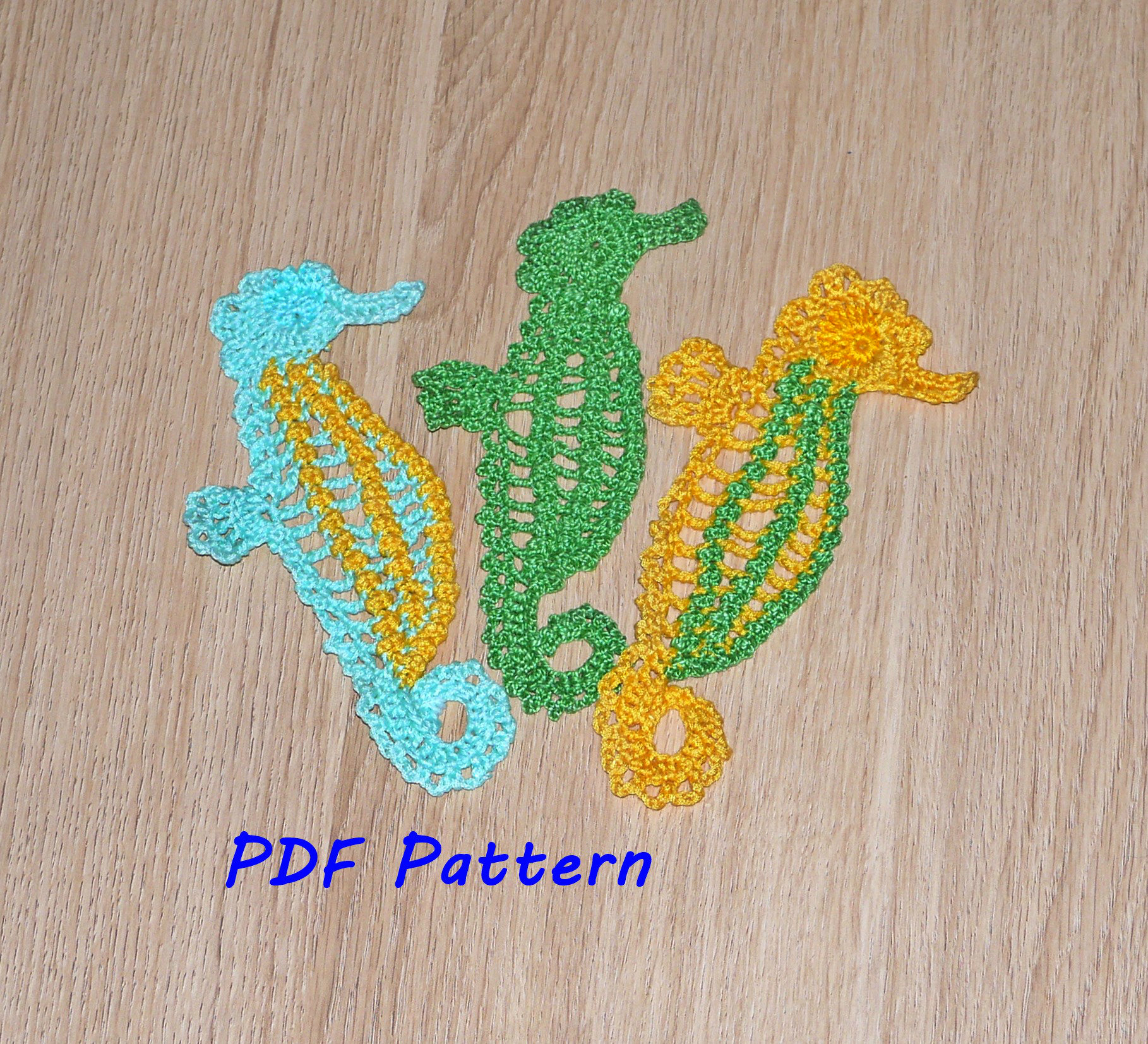 Seahorse crochet pattern crochet animal applique pattern zoom bankloansurffo Image collections