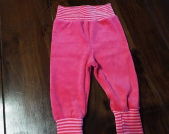 Bloomers 62/68 Pants Wax trousers nicky Pink cuddly trousers
