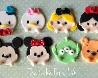 Disney Tsum Tsum Cupcake Toppers